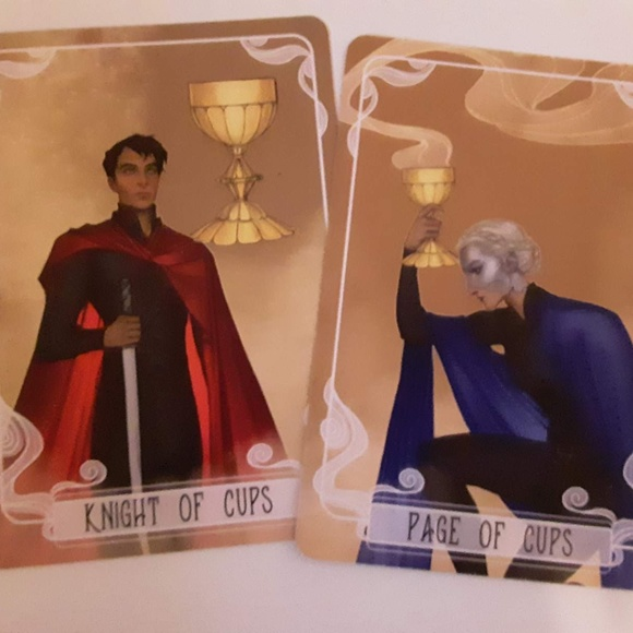 FairyLoot Knight & Page of Cups Tarot Cards